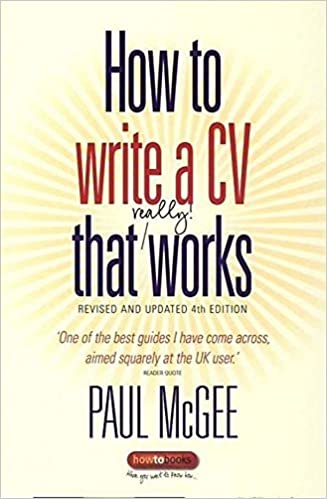 How To Write A Cv That Really Works Concise Thorough And