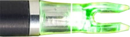 Nufletch Ignitor Nocks .233 H Nock 3 Pack. Archery Equipment, Green