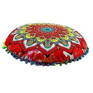 Topassion - Funda de cojín con diseño de Mandala, tamaño ...
