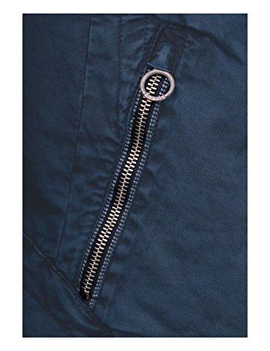 Cecil deep Blu Cappotto Donna 10128 Blue grqg8w