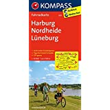 Harburg - Nordheide - Lüneburg: Fahrradkarte. GPS-genau. 1:70000 (KOMPASS-Fahrradkarten Deutschland, Band 3011)