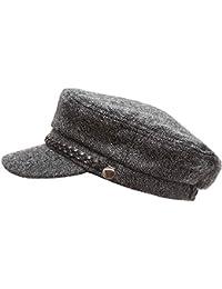 Women s Winter Greek Sailor Fisherman Cabbie Cap Newsboy Baker boy hat with  Elastic Band b5536afe21e4