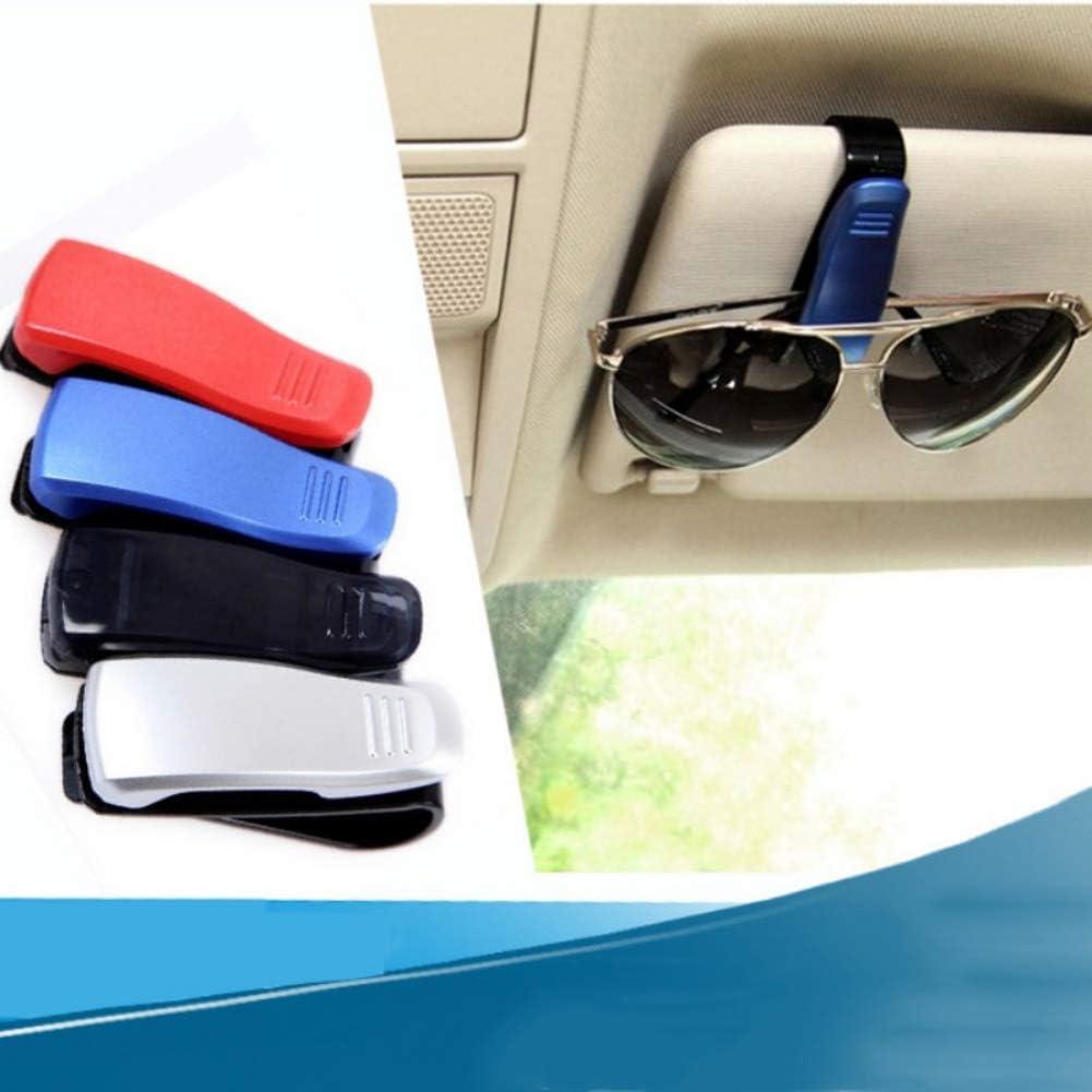 Random Color 1 PC Sunglasses Holder For Car Sun Visor Sunglasses Clip Card Holder Car Accessories
