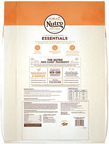 Nutro Wholesome Essentials Weight Management Dry Cat Food, Chicken 6