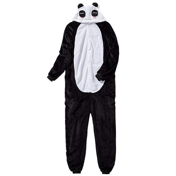 a7b09a3477f64 IEUUMLER Unisexe Animal Pyjama Animaux Enfant Combinaison Cosplay Outfit  Vêtements de Nuit Déguisements IE062 (Panda