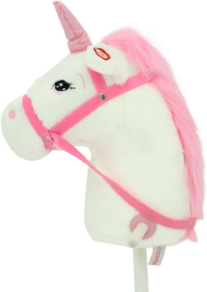 Caballo de Enchufe Sweety Toys 10547 Color Rosa.