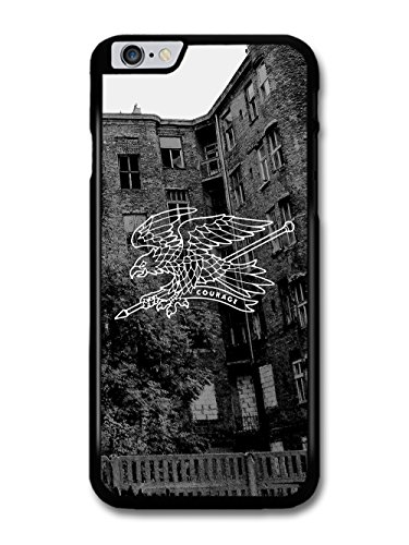 New Courage Illustration Eagle in Black and White case for iPhone 6 Plus 6S Plus