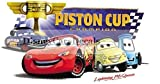6 Inch Piston Cup Champion Team Lightning McQueen 95 Doc Luigi Guido Disney Pixar Cars 2 Movie Removable Wall Decal Sticker Art Home Racing Decor