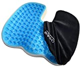 U shaped Seat Cushion. Orthopedic Comfort Foam helps Coccyx, sciatica, Tailbone Support, Lower back pain. Promotes healthy spine posture. Versatile Uses Like patio chair, Maternity, Car, Travel.