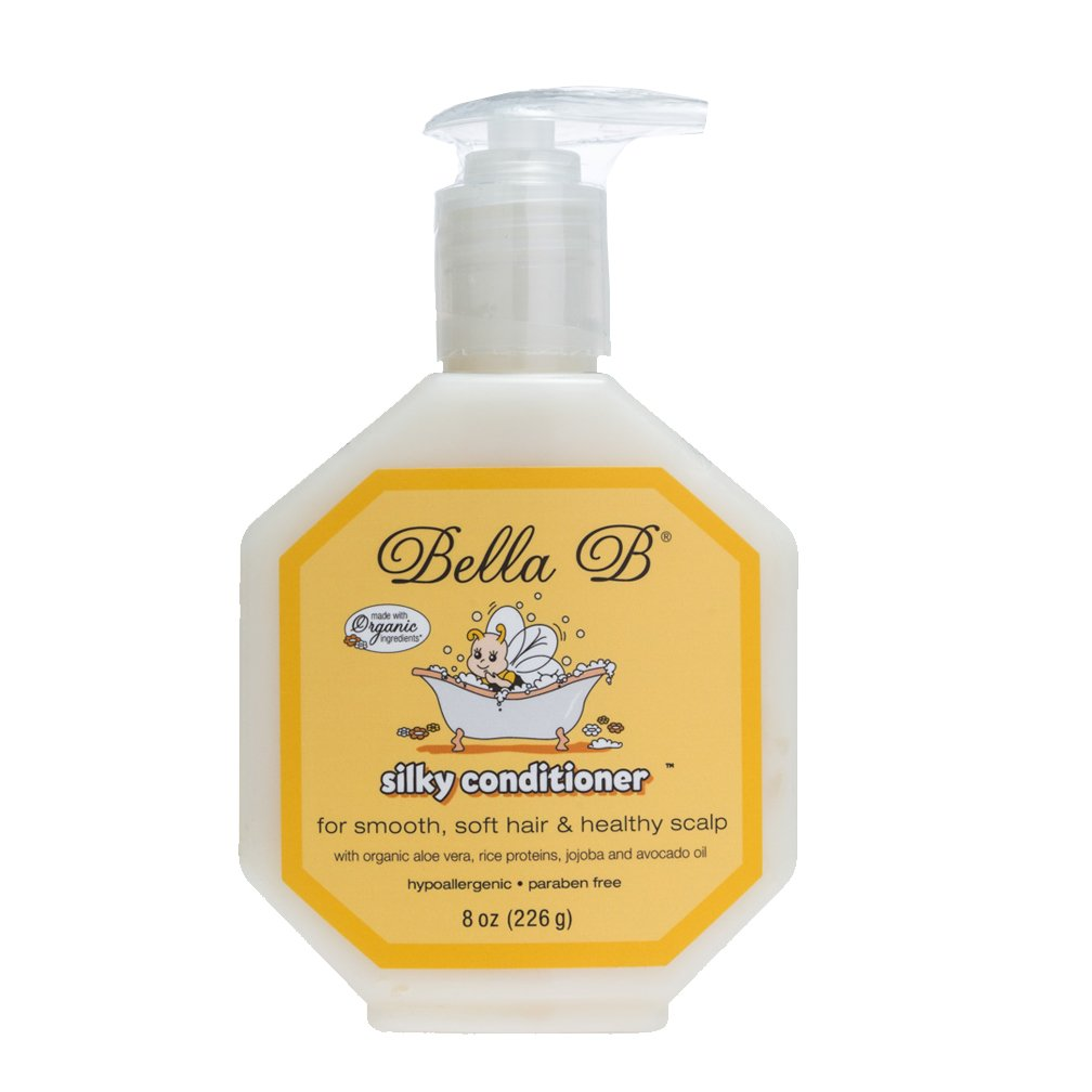 Bella B Naturals Silky Conditioner for Hair, 8 Ounce