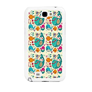 Cute Animals Designed Phone Case Cover for Iphone 4 4s (fish sg0591)
