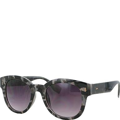 e926bf859d Amazon.com  Kay Unger Emilynn Sunglasses (Smoke Tortoise Gradient ...