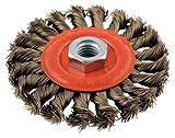 Forney Wire Wheel Brush 4 '' Twist Knot