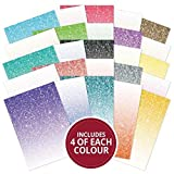 Hunkydory Adorable Scorable Glitter Ombre 100-Sheet Megabuy AS737