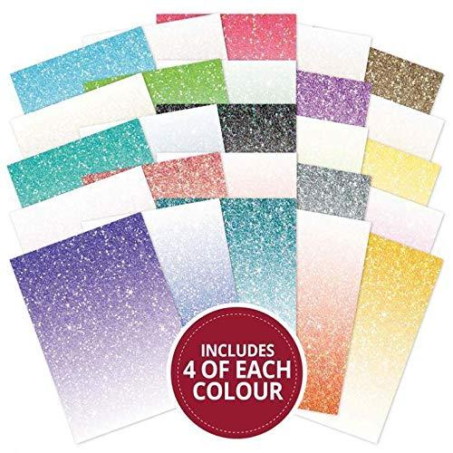 Hunkydory Adorable Scorable Glitter Ombre 100-Sheet Megabuy AS737