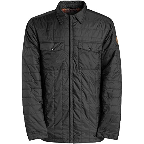 Billabong Men's Mitchell Insulator Snow Jacket, Anthracite,
