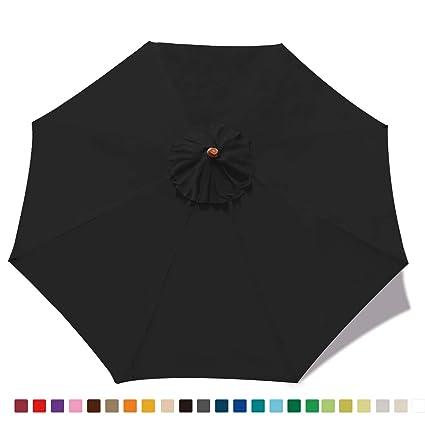 Amazon Com Abccanopy 23 Colors 9ft Outdoor Umbrella Top Patio
