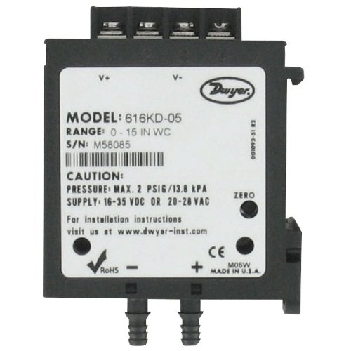 Dwyer Instruments DP Transmitter 0-5 0-10 V Out by Dwyer (Image #1)