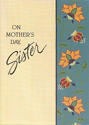 ON MOTHER'S DAY SISTER (M1) for sale  Delivered anywhere in USA
