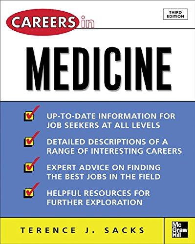 (Careers in Medicine, 3rd ed. (Careers in…Series))