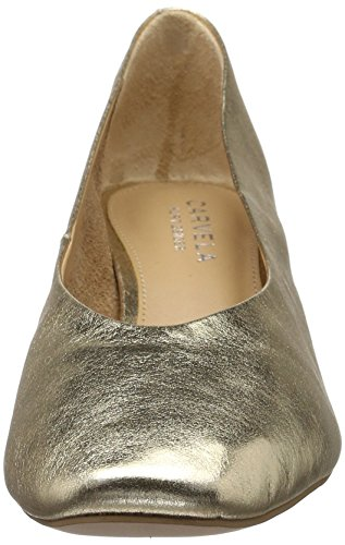 Carvela Women's Antidote Np Closed-Toe Pumps Gold (Gold) 99eNT