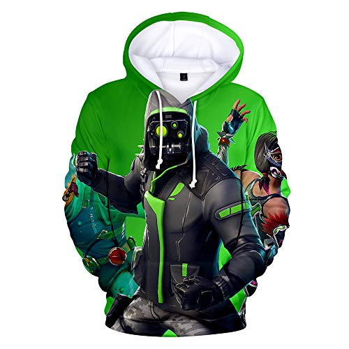 3D Printing Novelty Unisex Hoodie with Pockets (Small, Archetype)