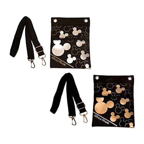 Cross Mouse 2 Set Bag Shoulder of Body Mickey Disney TZRqwaa