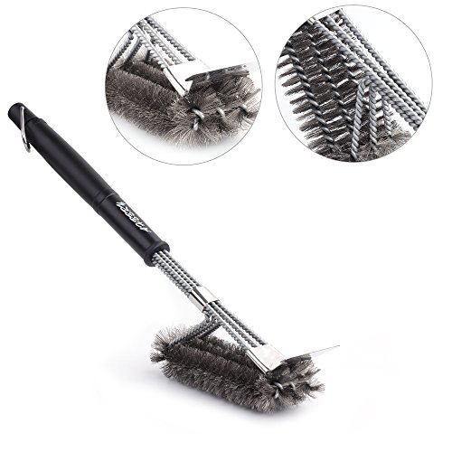 Eorange Grill Brush with Scraper, BBQ Cleaning Brush for Grill, 18\