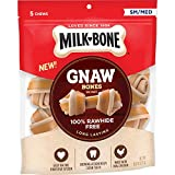 Milk-Bone Gnawbones Knotted Bones, Rawhide-Free, Chicken, Small-Medium, 9.6 oz Pouch