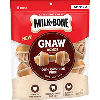 Amazon.com : Milk-Bone Gnawbones Knotted Bones, Rawhide