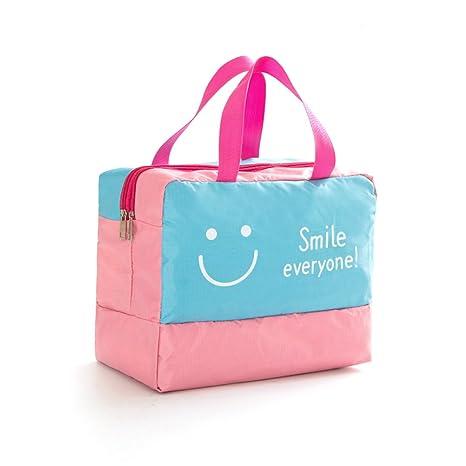 odowalker Wet Bolsa bolsas de gamuza de bebé bolsa de pañales mojado seco bolso con 2