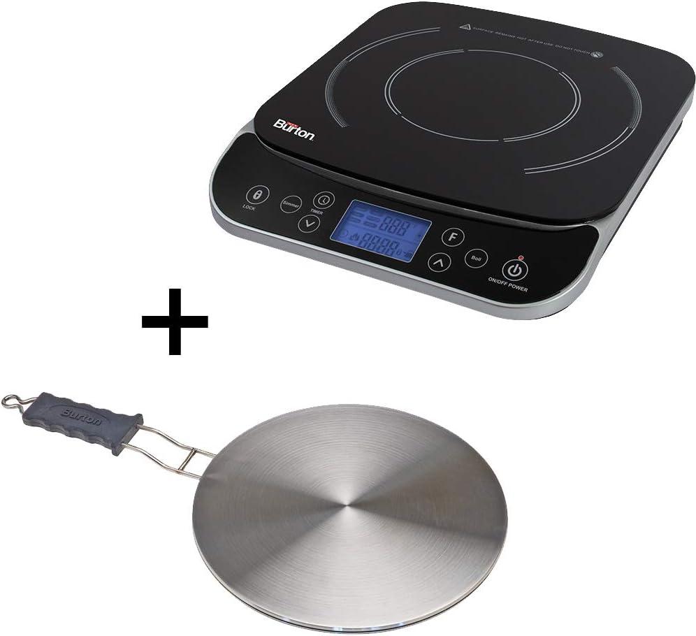 Max Burton Induction Bundle - 6450 Induction Cooktop & 6010 Interface Disk
