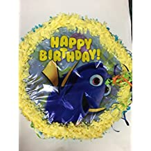 Finding Dory Pinata With Pull String - Party Game & Candy Holder- Hand Made To Order