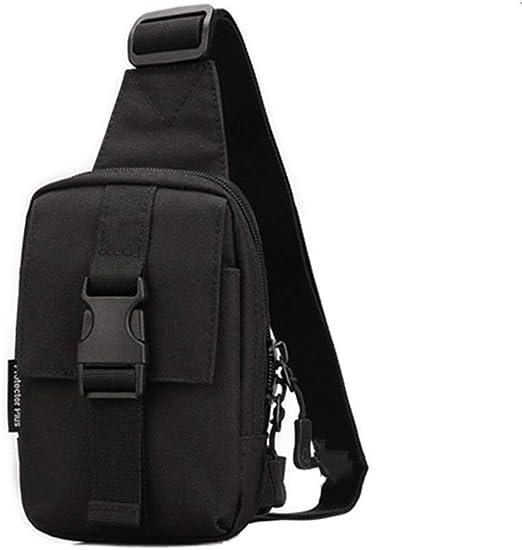 Bolsa de Hombro Pecho Mochila Sling Bag Pequeño Paquete de ...