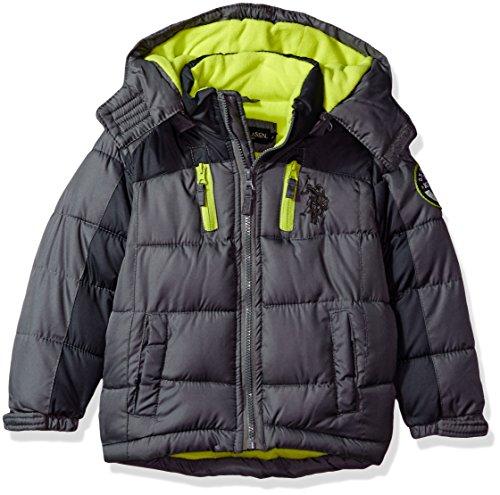 Kids Hooded Jacket Coat - 3