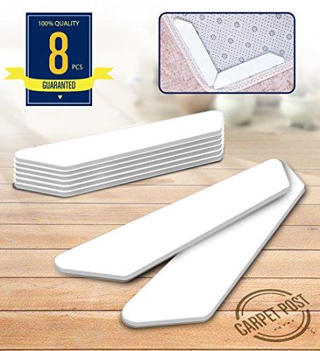 Humbera Rug Gripper,Outdoor Rug Gripper Carpet Gripper Anti Slip Anti Curling Renewable for Indoor Outdoor