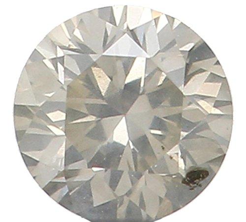 Narshiha Natural Loose Diamonds Cut Round I Color SI2 Clarity 2.50X1.70 MM 0.067 Ct N5185 (0.067 Diamond Ct)