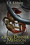 Front cover for the book A Fish Dinner in Memison by E. R. Eddison