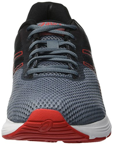 Asics Gel-Phoenix 9, Chaussures de Running Homme, Noir Multicolore (Ironclad/Classic Red 020)