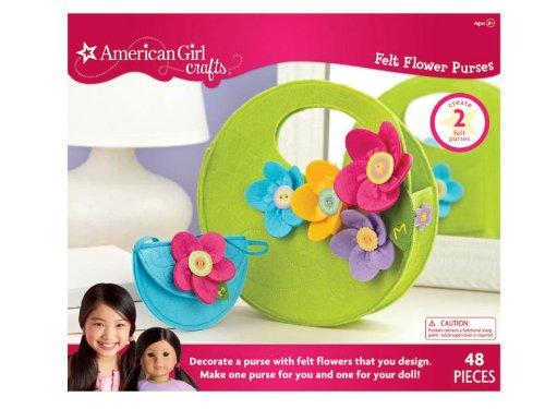 American Girl Crafts Felt Flower Purses Kit