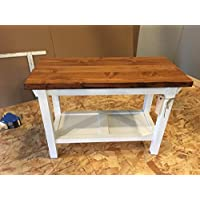 Hallway / Mud Room / Foyer Bench 30 Size Increased 16 Depth And Custom Shelf Height