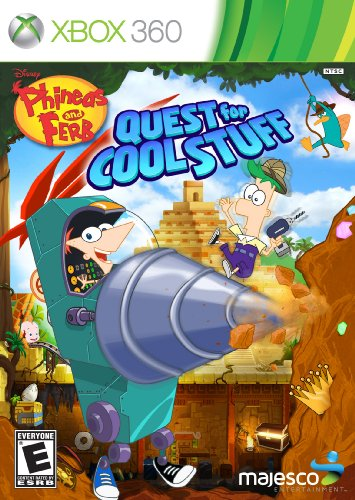 Phineas and Ferb: Quest for Cool Stuff (Xbox 360)