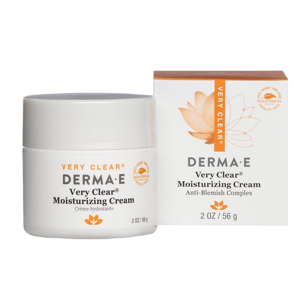DERMA E Very Clear Moisturizing Cream 2oz