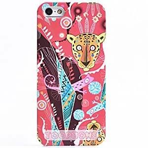 LIMME Special Design Leopard Pattern ABS Back Case for iPhone 5/5S