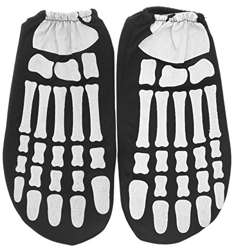 Rubie's Costume Child Glow in the Dark Skeleton Feet- 9in X 5in X (Cheap Skeleton Costume)