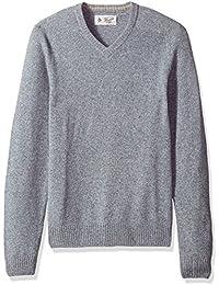 Men's P55 100% Lambswool V-Neck Sweater