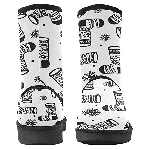 InterestPrint Womens Snow Boots Unique Designed Comfort Winter Boots Multi 20 qDv8R8hpHv