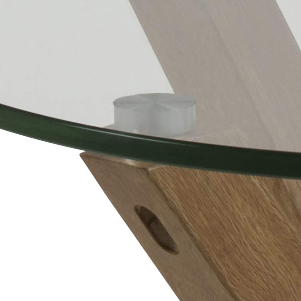 Tavolo da caff/è Movian Zala marrone Brand Lu x La x A 50 x 50 x 55 cm