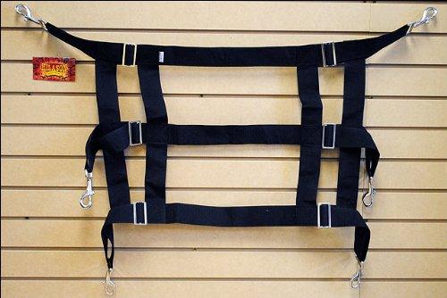 (HILASON WESTERN HORSE POLY WEB ADJUSTABLE STALL GUARD)