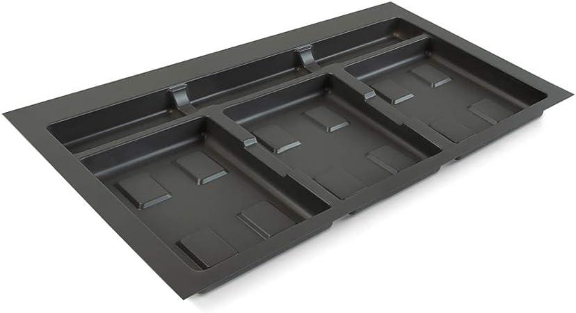 Abfalleimer Biodeckel f/ür 80 cm Schrankbreite Abfallsammler Abfallsorter Cox Box 2T//800-4 mit vierfach Trennung inkl M/ülleimer